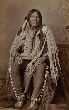 Jicarilla Apache Man In New Mexico
