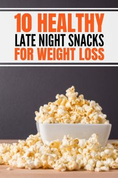 Best healthy late night snacks for weight loss that are easy quick. Satisfy your midnight cravings without junk food. Healthy, good clean eating snack ideas that are low calorie, low carb, keto friendly, vegan friendly, sweet, yummy, and simple. #healthysnacks #weightlosssnacks Healthy Late Night Snacks, Healthy Snack Options, Healthy Snacks, Detox Recipes, Low Carb Recipes, Midnight Cravings, Healthy Life, Healthy Living, Protein Rich Foods