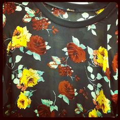 Pretty floral top from Ella Moss! #blissboutiques