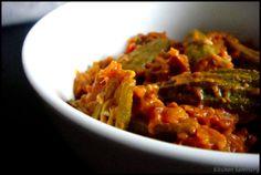 Kadai Bhindi/ Okra in gravy