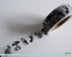 Popular items for animal washi tape on Etsy