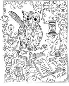 Doodle Hour Library Program: Zentangle and Adult Colouring | Adult ...