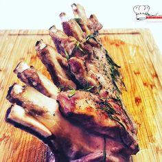 Carré d'agneau au romarin cuisson au four