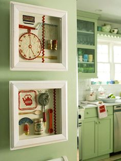 Kitchen #shadowbox