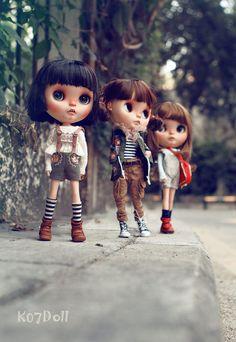 Blythe dolls by K07doll