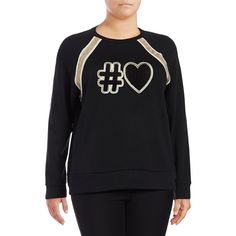 3f002de01f04b Marc New York Performance Women s Graphic Pullover Sweater ( 68) ❤ liked on Polyvore  featuring plus size women s fashion