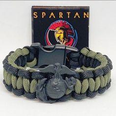 USMC EGA Concho Overlay King Cobra braid Marine   Etsy Usmc Emblem, Spartan Helmet, Molon Labe, King Cobra, Yellow Black, Watch Bands, Overlays, Two By Two, Braids