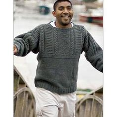 Free Knitting Patterns For Guernsey Sweaters : 1000+ images about Guernsey / Gansey sweaters on Pinterest ...