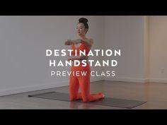 Yoga Inversion Warmup with Melini Jesudason Wall Handstand, Yoga Inversions, Practice Yoga, Online Yoga, Body Warmer, Yoga Videos, Asana, Adulting, Challenges