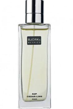 Cedar Lime Bjork and Berries for men - The fragrance features oakmoss, cedar, lime and mandarin orange.