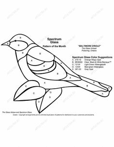 ★ Stained Glass Patterns for FREE ★ glass pattern 451 ★ – Glass Art Designs Stained Glass Patterns Free, Stained Glass Birds, Faux Stained Glass, Stained Glass Designs, Stained Glass Projects, Stained Glass Windows, Free Mosaic Patterns, Free Pattern, Mosaic Birds