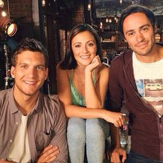 Scott Michael Foster, Italia Ricci and Richard Brancatisano Family Show, Abc Family, Chasing Life Leo, Movies Showing, Movies And Tv Shows, Scott Michael Foster, Le Triangle, Uncle Jesse, Devious Maids