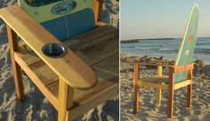 A collection of ideas for reusing old/broken surfboards    PAINT IT   How to paint your surfboard:    www.KORDUROY.tv      SURFBOARD PAINT...