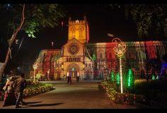 #Christmas #Navidad 2013: Luces navideñas en la India
