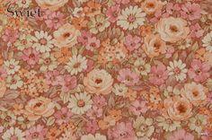 Bloemen behangpapier | Swiet
