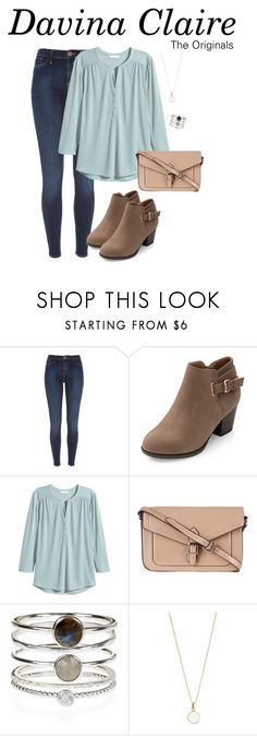 """""""Davina Claire inspired outfit"""" by kirsty-x-rose ❤ liked on Polyvore featuring River Island, H&M, ZALORA and Accessorize"""