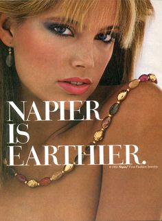 Napier advertisements Archives - The Napier Book & Online Source for Vintage Napier Jewelry Vintage Costume Jewelry, Vintage Costumes, Vintage Jewelry, Retro Ads, Vintage Ads, Kelly Emberg, Napier Jewelry, Jewelry Ads, Jewellery