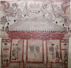 Dynastie Qi, il y a 1500 ans environ