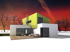 Nadštandardné riešenie domu - Nová Dedinka 2