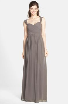 Jenny+Yoo+'Leah'+Convertible+Chiffon+Gown+available+at+#Nordstrom