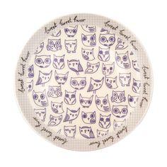Sugar Coated Owl small plate