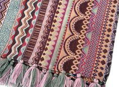 Bohemian Throw Blankets Bohemian Throw Blanket Boho Beach Blanket Tribal Aztec Blanket