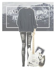 """""""✴; But please don't bite"""" by my-path-to-oblivion ❤ liked on Polyvore featuring Boohoo, Vans, American Standard and NIKE"""