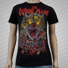 The Word Alive 'Viking Black' Tee $15 #TheWordAlive