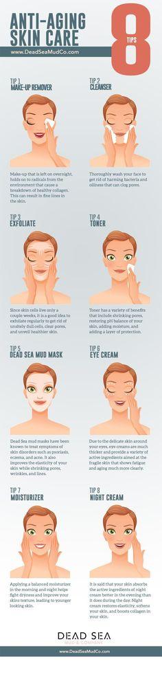 Eight Tips on Anti-Aging Skin Care