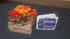 Lag baomer bon fire blocks
