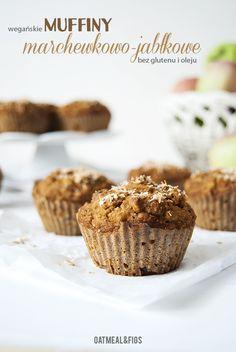 Wegańskie muffiny marchewkowe