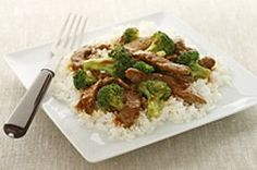 Easy Beef and Broccoli Recipe - Healthy Living Kraft Recipes Beef Broccoli Stir Fry, Easy Beef And Broccoli, Broccoli Recipes, Beef Recipes, Cooking Recipes, Healthy Recipes, What's Cooking, Rice Recipes, Recipies