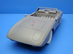 The prototype for Automodello's 1:24 scale tribute to the Mustang I.