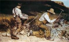 Image result for 113. The Stonebreakers, Gustave Courbet