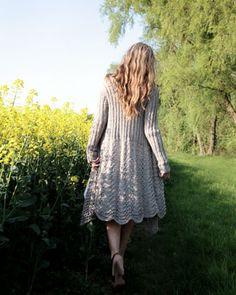 Purl Alpaca Designs - Knitting Patterns - Olivia Coat                                                                                                                                                                                 More
