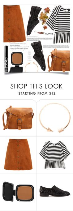 """Bonita Gabrielle"" by violet-peach ❤ liked on Polyvore featuring Monki, NARS Cosmetics, Astraet and NYX"