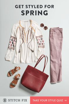 Looking for a new way to shop for women's clothes? Try a Stitch Fix personal stylist and get a box of handpicked clothing sent right to your door. Womens Fashion For Work, Trendy Fashion, Plus Size Fashion, Fashion Outfits, Fashion Fashion, Fashion Women, Summer Dress, Stitch Fix Outfits, Stitch Fix Stylist