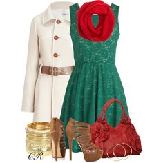 """Style My Christmas Dress"" by colierollers on Polyvore"