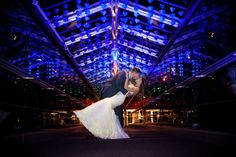 Our Sky Bridge is the perfect spot for pictures and a grand send off!  Photo By: S&S Photography