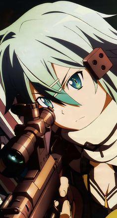 Sinon ♥ alias Asada Shino Sword Art Online [ GGO ]
