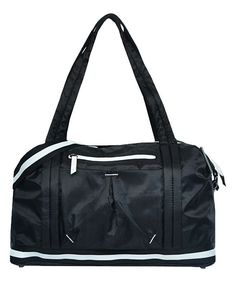 Black & White Madison Duffel Bag