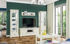 Marcel, Creme, Tv Cupboard, Living Room, Homes