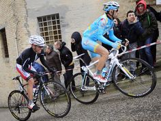 TIRRENO-ADRIATICO STAGE SIX GALLERY  Nibali, right, and Rodriguez struggled against the gradient  - Rodriguez is a tough cookie