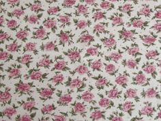 Floral Cotton Poplin - Rose Pink | buy in-store and online from Ray Stitch