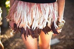 How fab, a feather skirt! Buy All The Things, Frock And Frill, Feather Skirt, Peter Pan Collars, Hot Outfits, Hippie Bohemian, Old Women, Playing Dress Up, Girly Girl
