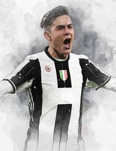 61 x Striker Paulo Dybala on Museum-quality poster with vivid print made on thick and durable Football Wallpaper, Ronaldo, Athletic, Trending Outfits, Jackets, Art Print, Clothes, Etsy, Vintage