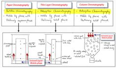 IB Chemistry Paper/Column Chromatography, HPLC, GLC, TLC for Option A Chromatography Techniques divided into TWO types Partition and Adsorption Chromatography Mobile and Stationary phase Thin Layer Chromatography, Paper Chromatography, Professor Stephen Hawking, Chemistry Paper, School Resources, Stationary, Lab