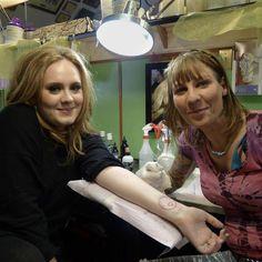 #Adele #tat all done