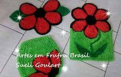 ARTES EM FRUFRU BRASIL : Jogo De Banheiro