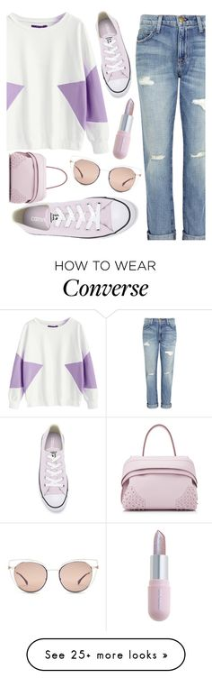 """Strolling Around"" by ayiarundhati on Polyvore featuring Current/Elliott, Converse, Tod's, Fendi, Winky Lux, contest, purple and polyvoreeditorial"